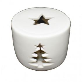Vela de Navidad Led Wimex color de luz Cálido 4501061
