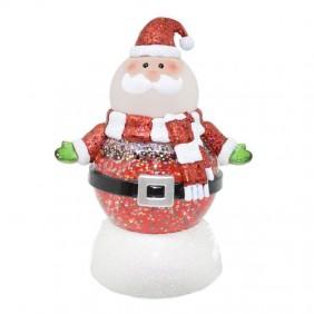 Snowman Wimex Santa Claus shimmering maxi Led RGB 4501082