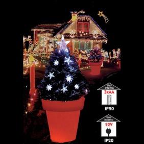 Albero Abete con Vaso Vimex a LED RGB 90cm 4504126