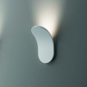 Lampe de mur par AxoLight LIK 16,6 W LED 3000K Blanc APLIKXXXBCXXLED