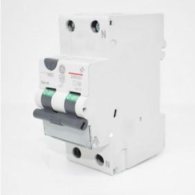 Residual interruptor de circuito de corriente de GE 20A 4.5 KA 0,03 Tipo C de la Curva de 690159