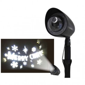 Laser projector Christmas Giocoplast Led, with the words Merry Christmas