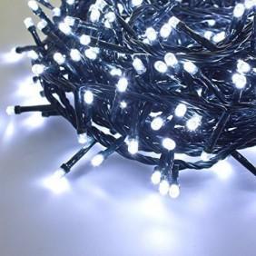 Serie Luci Natalizie Giocoplast 180 LED Bianchi freddo interno/esterno