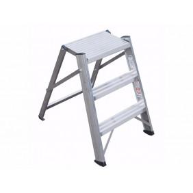 Folding stool Professional Frigerio aluminum 6027/03