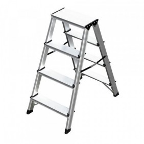 Folding stool Professional Frigerio aluminum two climbs 6033/04