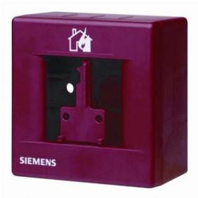 Custodia Siemens rossa per pulsante con chiave...