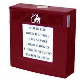 Custodia rossa Siemens con vetro e chiave Antincendio A5Q00004023