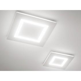 La pantalla plana Led de Panzeri tiene un techo Blanco 24W 3000K P07501.038.0101