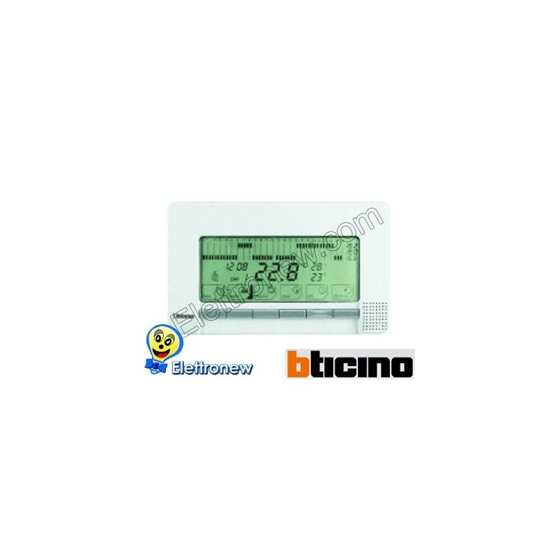 Bticino cronotermostato da perete n4450 for Cronotermostato bticino nt4451