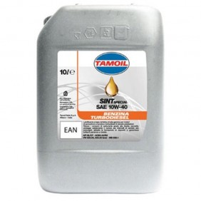 Olio per Auto TAMOIL Semi-sintetico 10W40 (B-D 10 Litri 9583