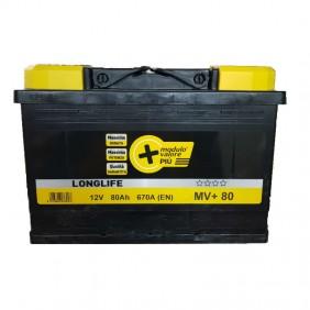 Batteria auto MV Longlife 80Ah a partire 670A polarità destra 9055
