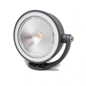 Lampada Goccia CLOCK Ø 120 LED 10W 3000K Grigio 4664GR3K