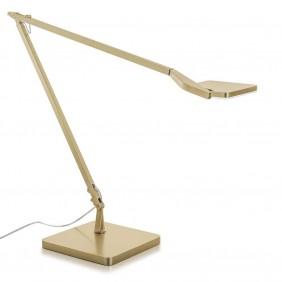 Lampada da tavolo Panzeri JACKIE LED di colore Oro Satinato C07719.000.0409