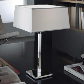 Lampada da tavolo Panzeri colore del BORDO Cromato C02322.000.0000