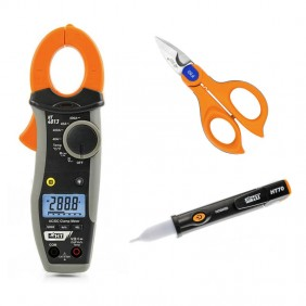 Kit HT Clamp meter + Scissor taglicavo + Cercafase HA004013