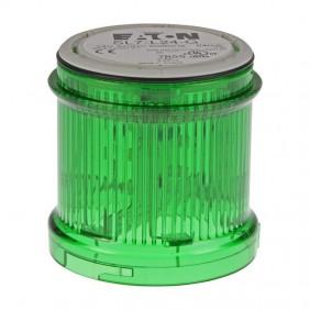 El módulo de luz continua Eaton SL7-L24-G Led Verde 171462