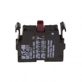 Contatto ausiliario Eaton M22-K01 NC a Vite fissaggio Frontale 216378
