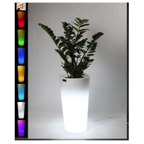 "Vase bright Starfive Sunset Round 85"" multicolor RGB"