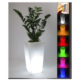 "Vaso luminoso Starfive Sunset Quadro 85"" multicolor con Batteria"