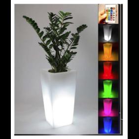 """Vaso luminoso Starfive Sunset Quadro 85"""" multicolor con Batteria"""
