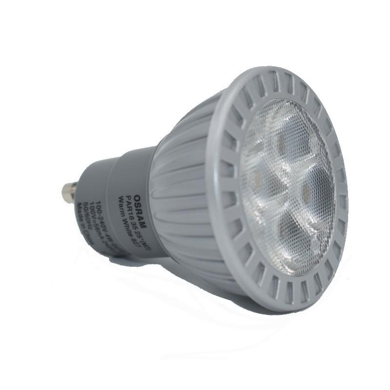 2700k Gu10 Faisceau De Osram 4w Led 25° Lampe odBxeC