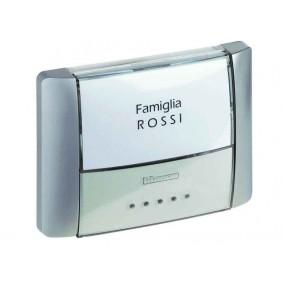 Bticino Pulsante Portanome IP55 Retroilluminato...