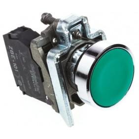 Pulsante completo Telemecanique Verde 1NO XB4BA31
