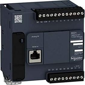 Controllore Logico Telemecanique M221 6 I/O transistor PNP TM221C16T