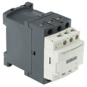 Contactor Telemecanique TeSys D 12A 3P 24VDC LC1D12BL
