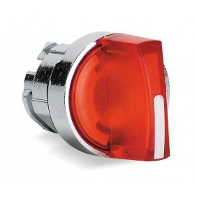 The head selector switch Telemecanique LED Red...