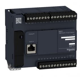 Controllore logico CPU Telemecanique Modicon M221 24 I/O PNP TM221C24T