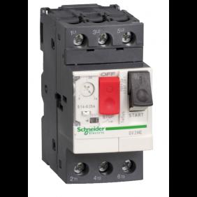 Interruttore Salvamotore Telemecanique GV2ME 9-14A 2,5 Moduli GV2ME16