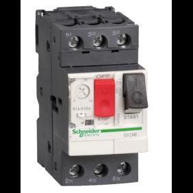 Interruttore Salvamotore Telemecanique GV2ME 1-1,6A 2,5 Moduli GV2ME06