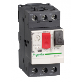 Interruttore Salvamotore Telemecanique 6/10A 2,5 Moduli GV2ME14
