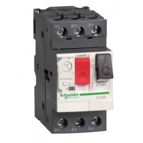 Interruttore Salvamotore Telemecanique 2,5-4A 2,5 Moduli GV2ME08