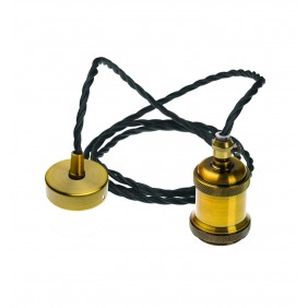Pendel Amarcords Masterchef Cavo Nero Treccia Cotone 2 Metri AT150