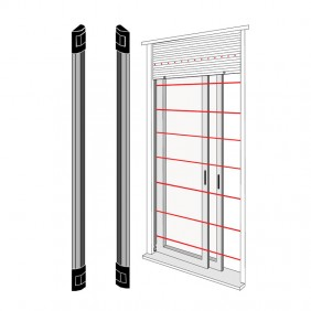 Barrier infrared Source IR windows and Doors 1 Meter BAR100N