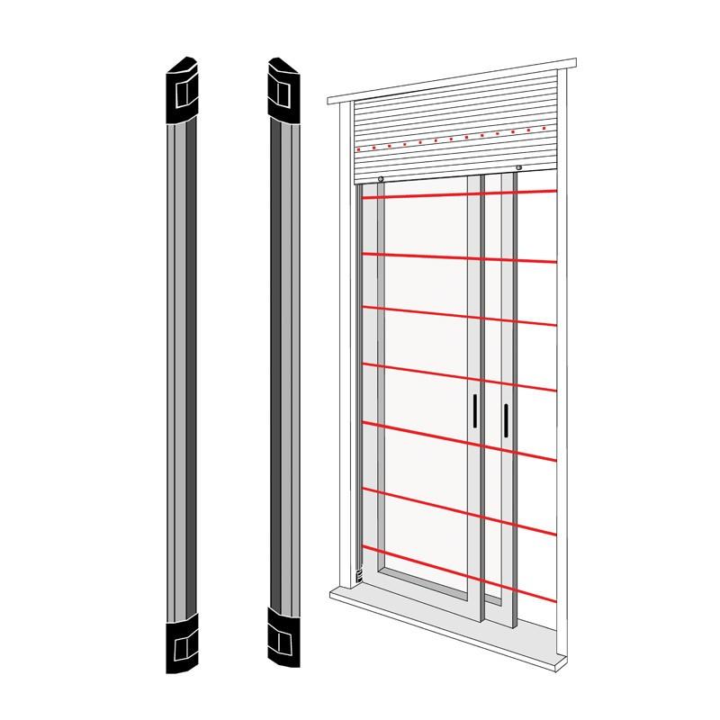 Barrière infrarouge de la Source de l\'IR de fenêtres et de Portes à 1 Mètre  BAR100N