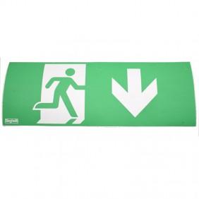 Adesivo Beghelli per lampade di Emergenza COMPLETA 4278