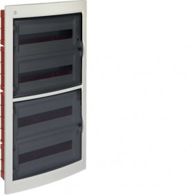 Switchboard recessed Bocchiotti PABLO 72 Modules door tinted B04147