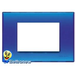 BTICINO LIGHT PLACCA 3 MODULI N4803BJ