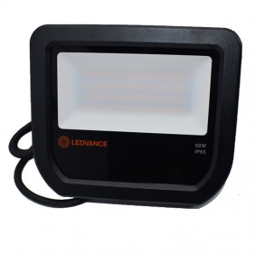 Proiettore Ledvance 50W 3000K IP65 FLOOD50830BG2