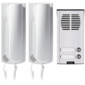 Kit citofonico Elvox Sound System Bifamiliare per impianti 4+1 K62K0.02