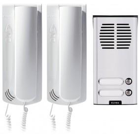 Kit de interfono Elvox Sistema de Sonido en la casa para las plantas 4+1 K62K0.02