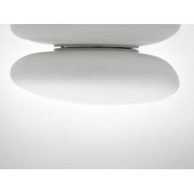 Luz de techo de Apliques de Visconti NEOCHIC Pequeño Blanco E27 PLNEOCHPBCBC