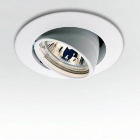 Faretto Egoluce orientabile ad Incasso colore Bianco foro 6mm 6239.01