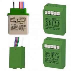 KITS Start Light Urmet with a Relay and a Dimmer and the Transmitter 1054/4