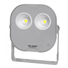 Proiettore a LED Tecmar 130W 5000K Simmetrico 110° Grigio 8034PR5130GL