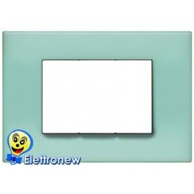 BTICINO LIGHT PLACCA 3 MODULI N4803VP