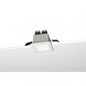 Faretto incasso quadrato Nobile 9W LED 4000K R5/4K